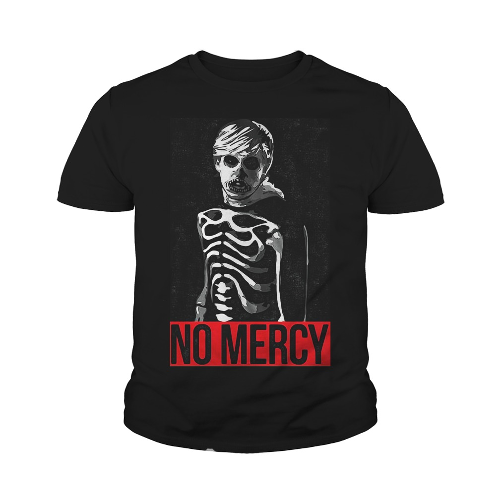 Karate Kid No Mercy Skeleton Youth Shirt