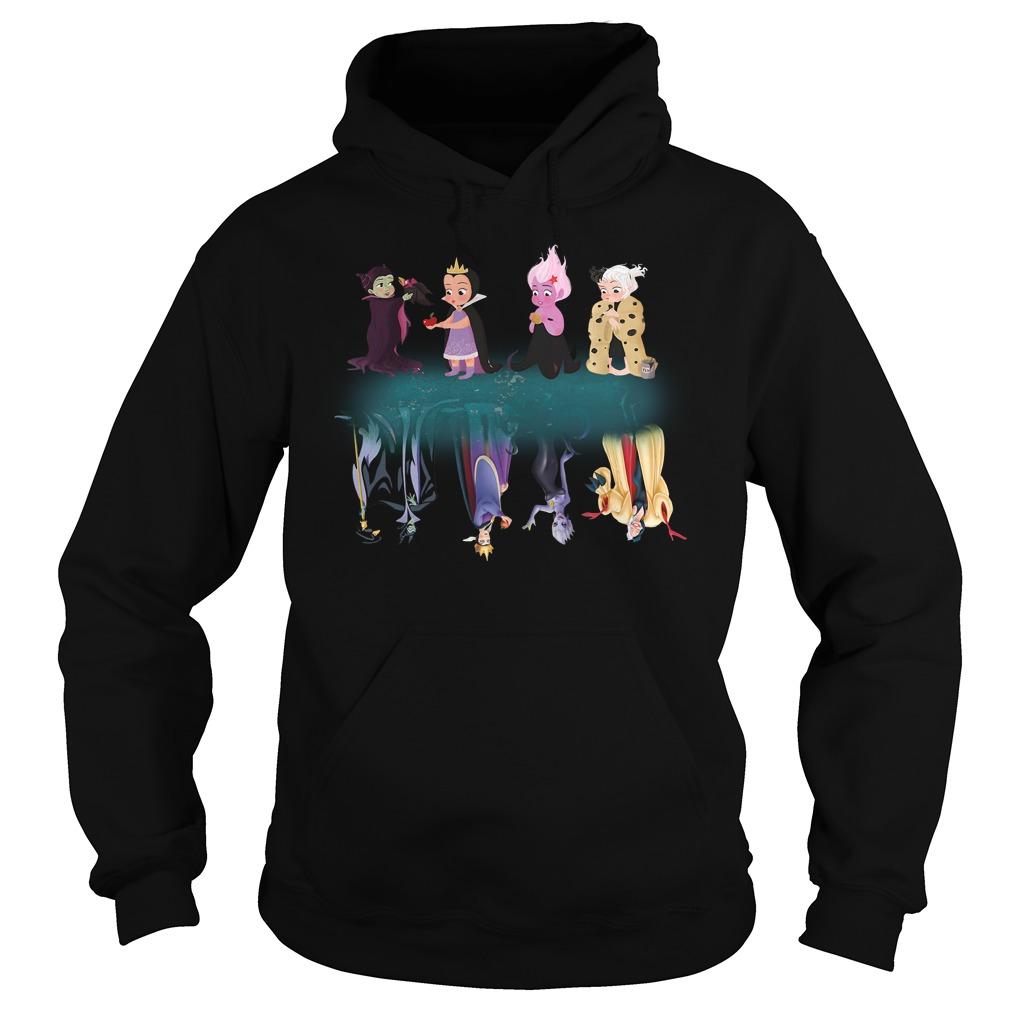 Maleficent Characters Water Mirror Hoodie