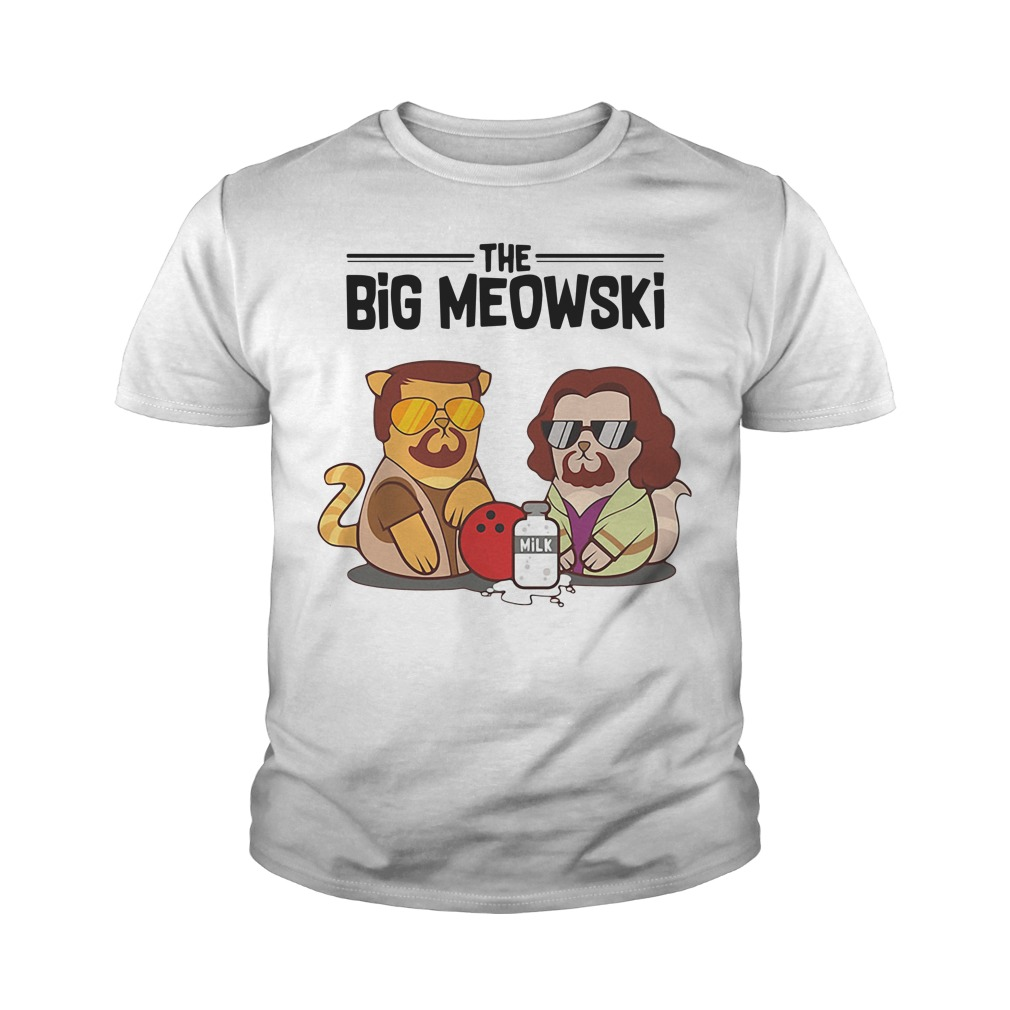 Official The Big Meowski Youth Shirt