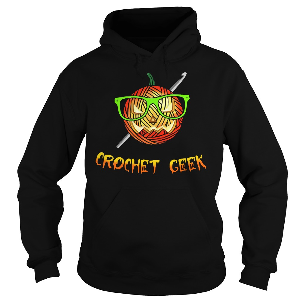 Official Crochet Geek Black Hoodie