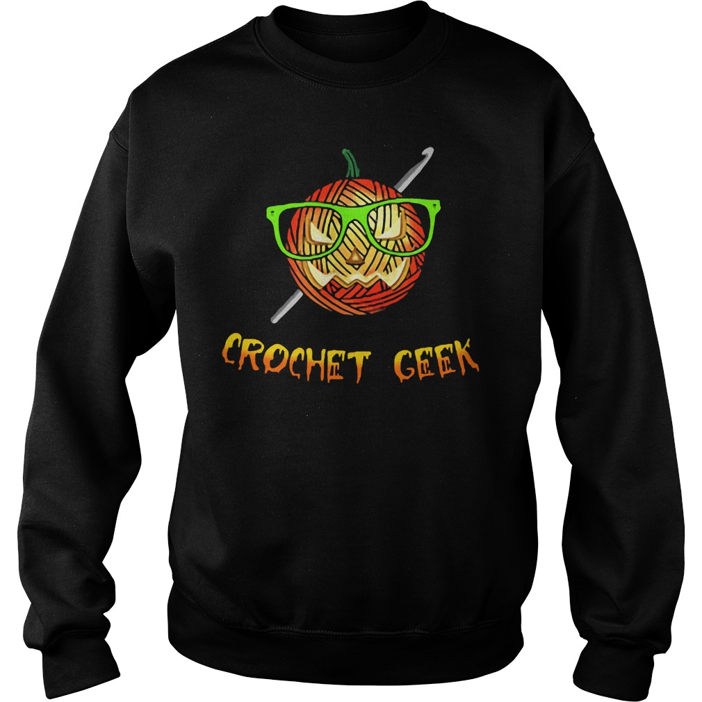 Official Crochet Geek Black Sweatshirt