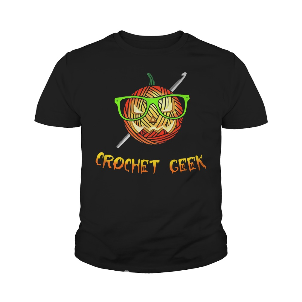 Official Crochet Geek Black Youth Shirt