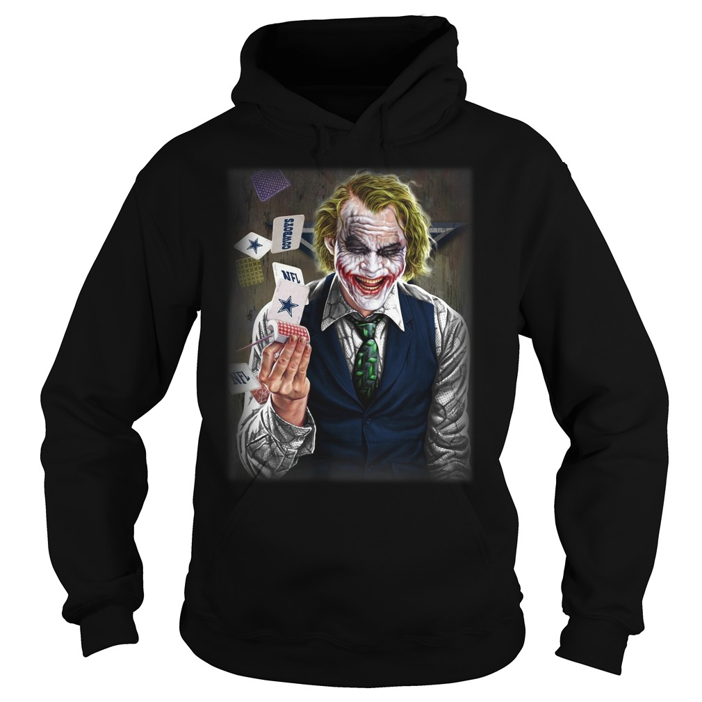 Official Dallas Cowboys Joker Poker Hoodie