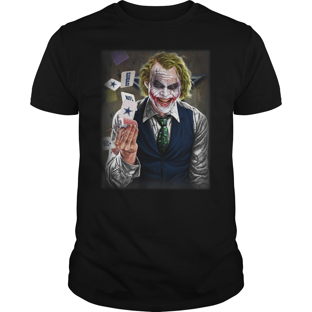 Official Dallas Cowboys Joker Poker Guys Shirt