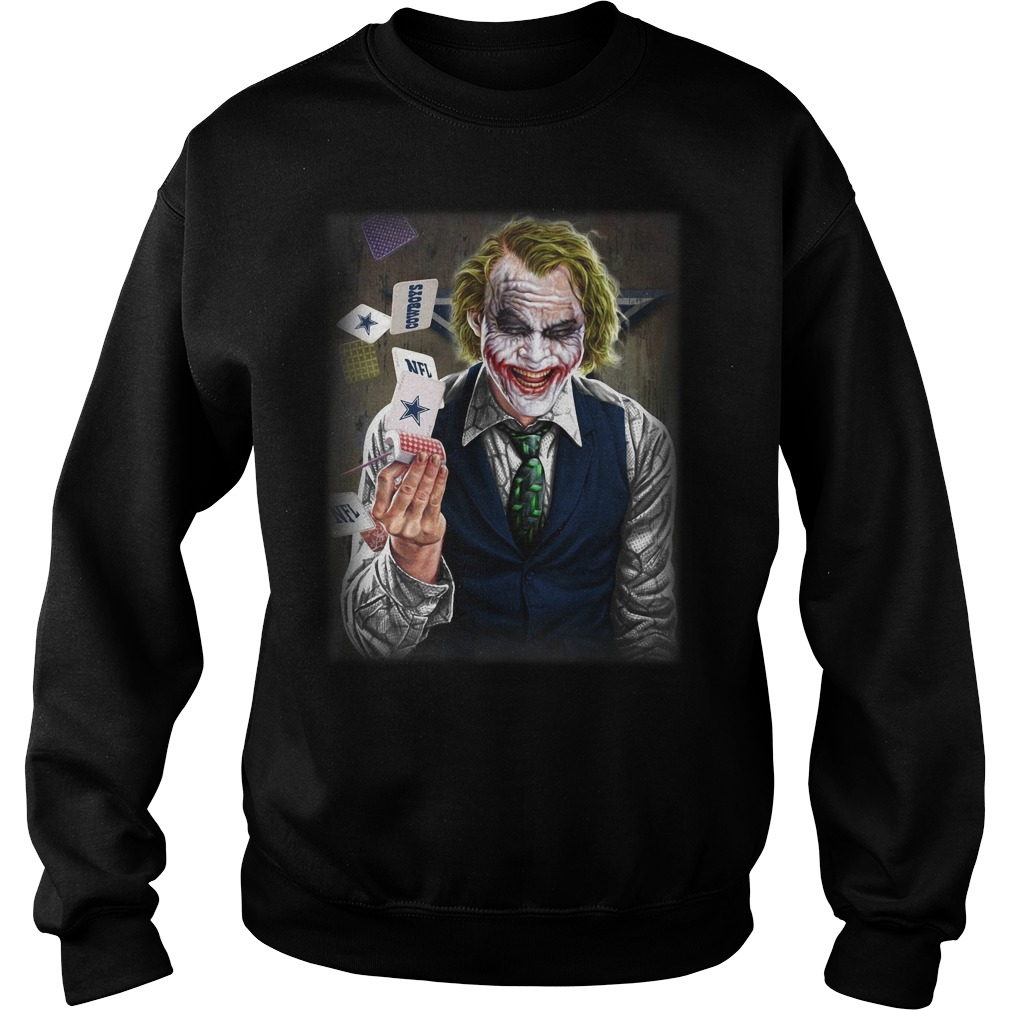 Official Dallas Cowboys Joker Poker Sweatshirt