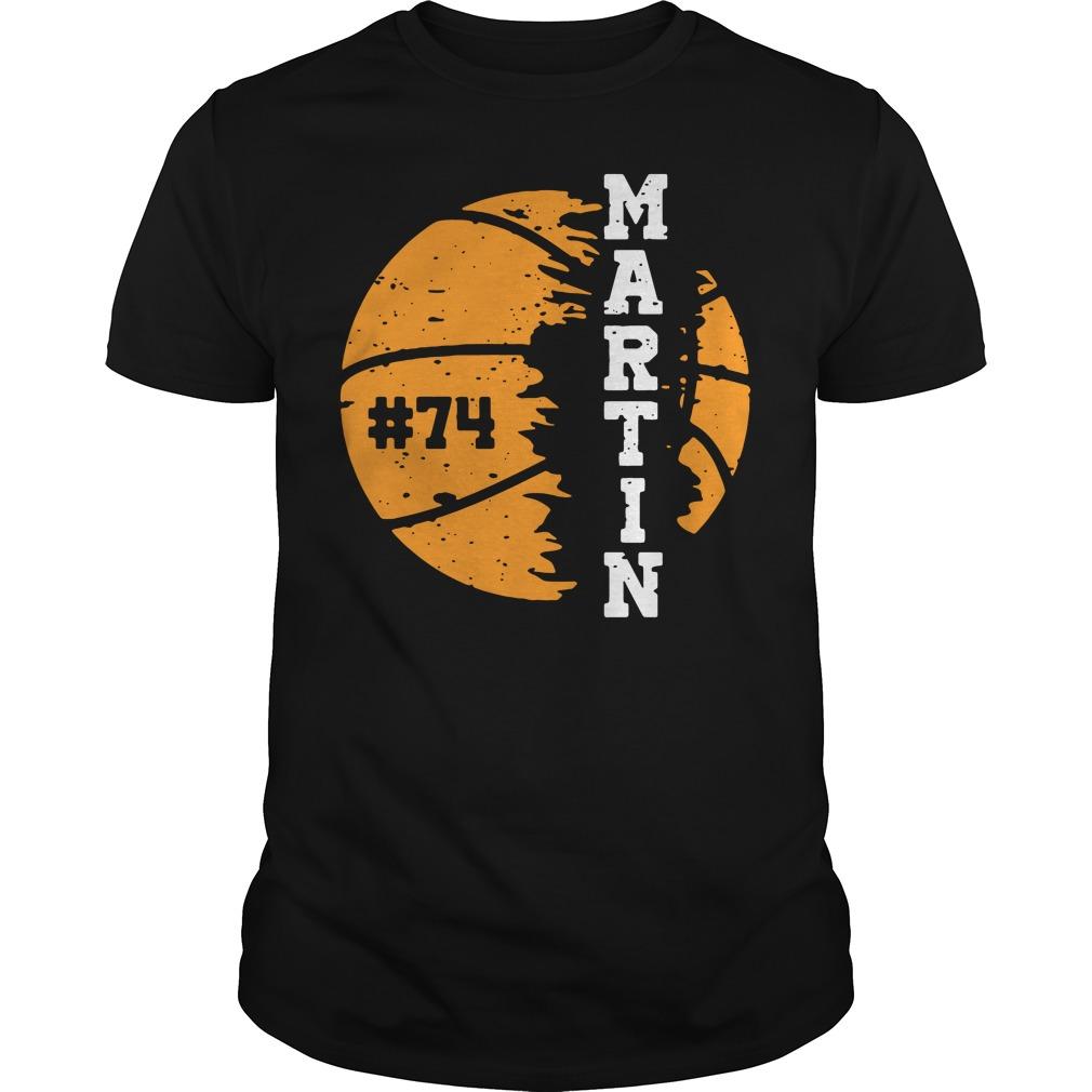 Official Martin 74 Guys Shirt