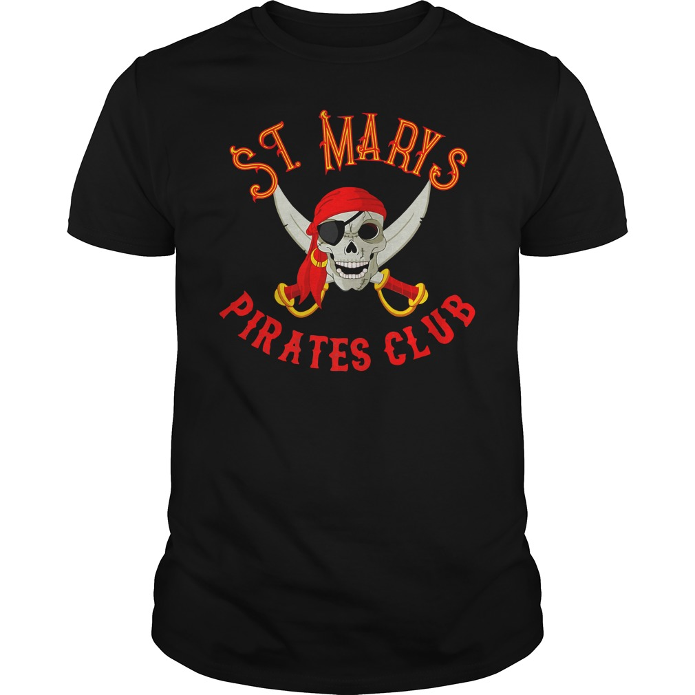 Official St Marys Pirate Club Guys Shirt