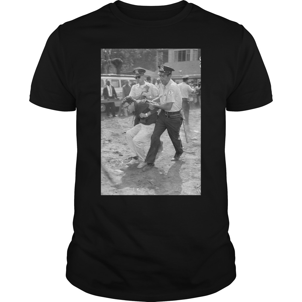 Photo Of Bernie Sanders' 1963 Arrest Surfaces Guys Shirt