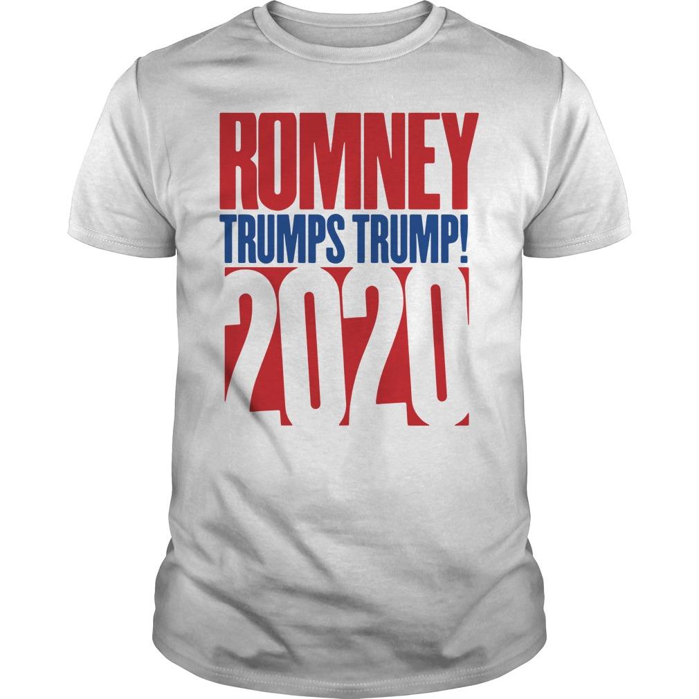 Romney Trumps Trump 2020 Guys Shirt