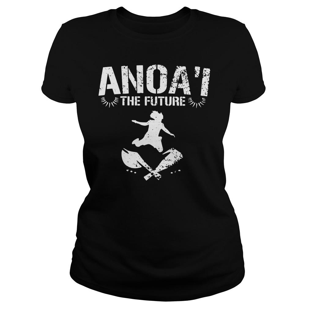 Samu Anoa'i Anoa'i The Future Shirt Ls Ladies Shirt