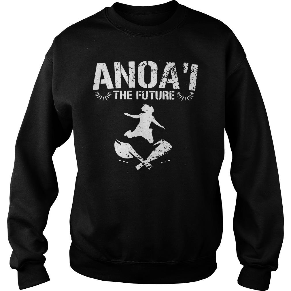 Samu Anoa'i Anoa'i The Future Shirt Ls Sweater