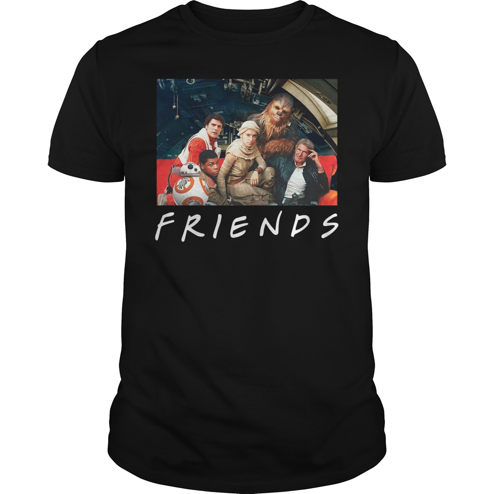 Solo A Star Wars Story Friends Guys Shirt