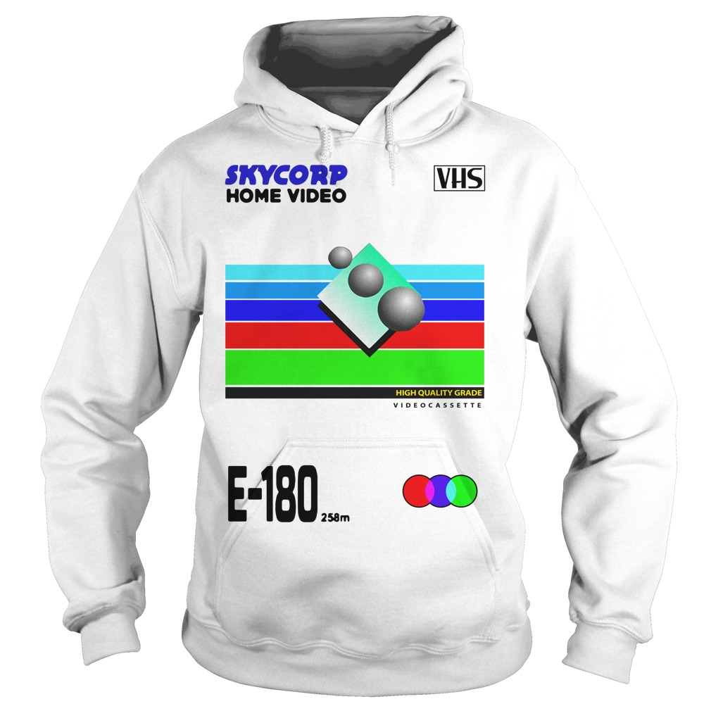 VHS Skycorp Home Video Hoodie