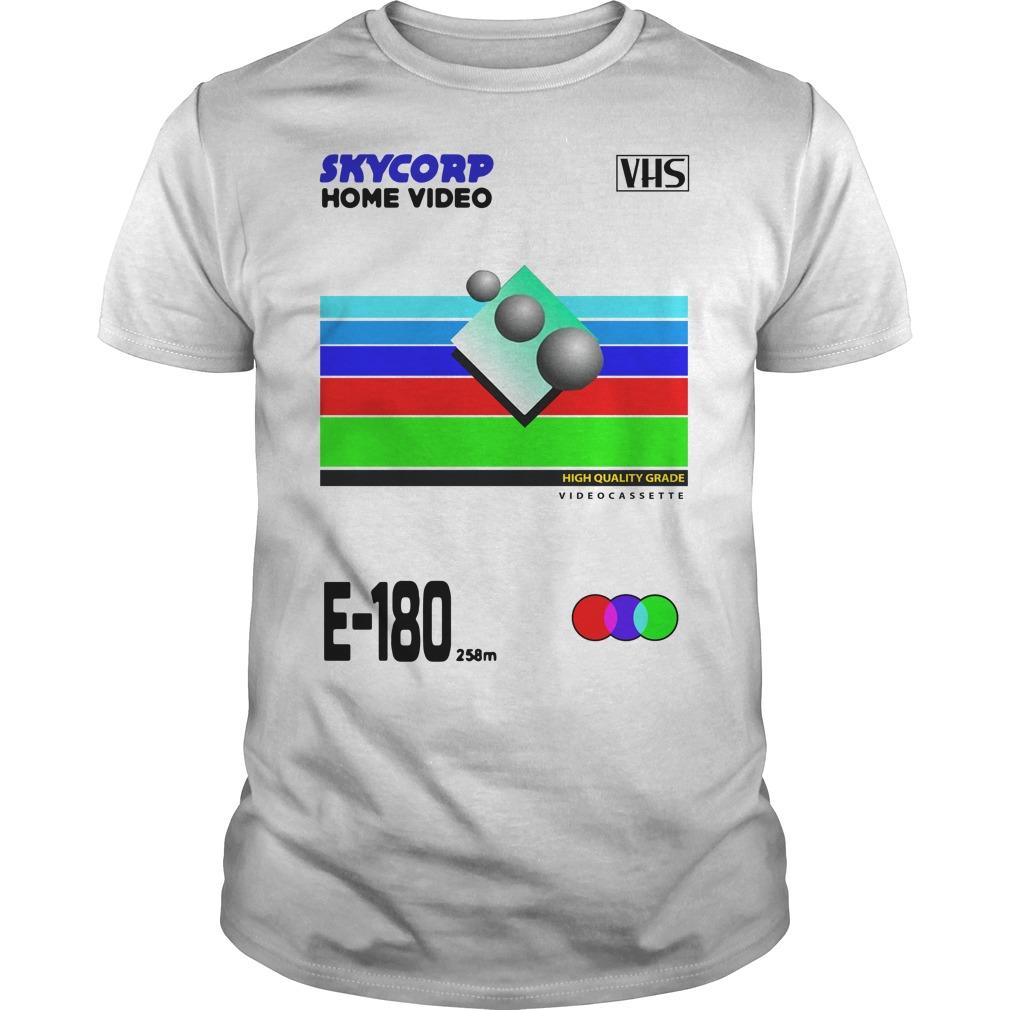VHS Skycorp Home Video Guys Shirt