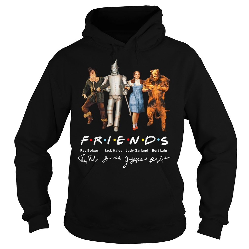 The Wizard Of Oz Friends Signature Hoodie