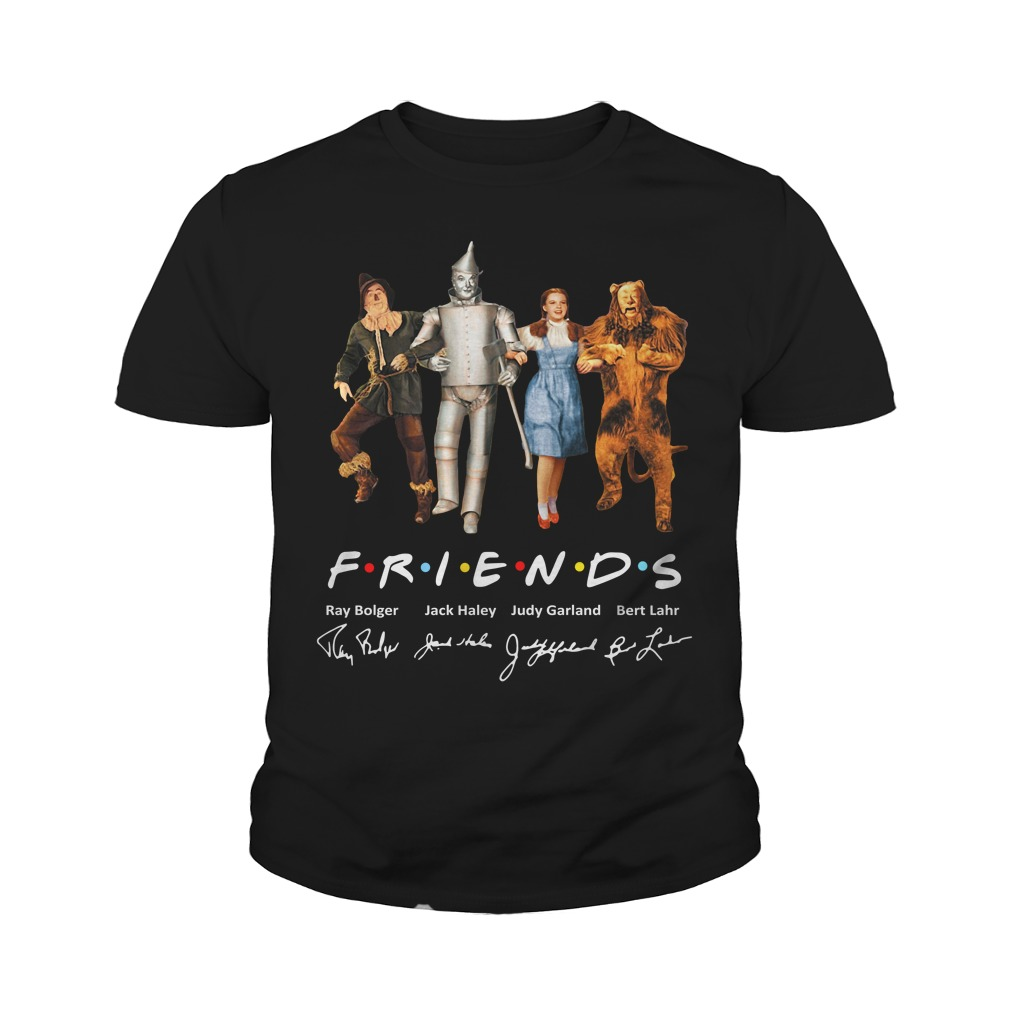 The Wizard Of Oz Friends Signature Youth Shirt