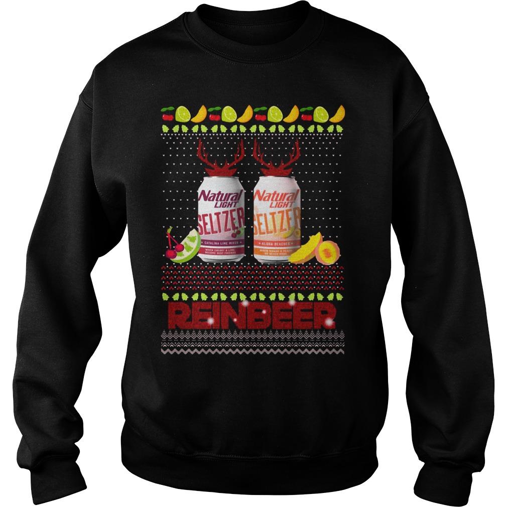 Christmas Natural Light Seltzer Catalina Lime Mixer Shirt sweater