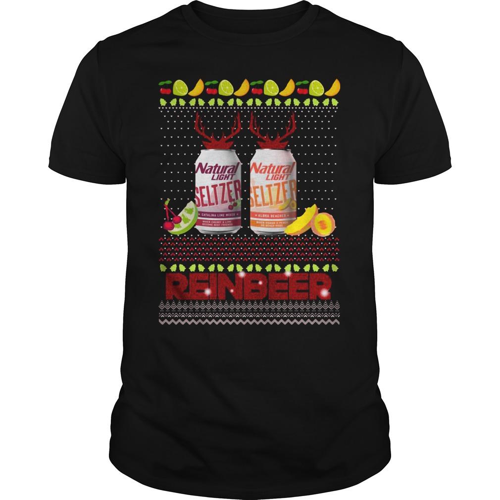 Christmas Natural Light Seltzer Catalina Lime Mixer Shirt