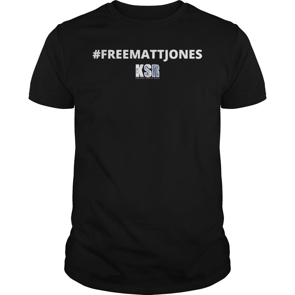 #Freemattjones Kentucky Sports Radio Shirt