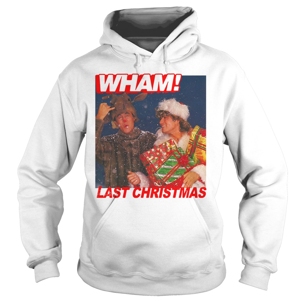 George Michael Wham Last Christmas Shirt hoodie