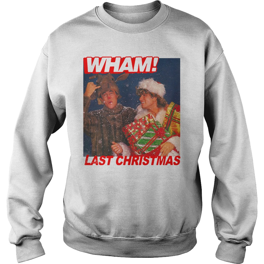 George Michael Wham Last Christmas Shirt sweater