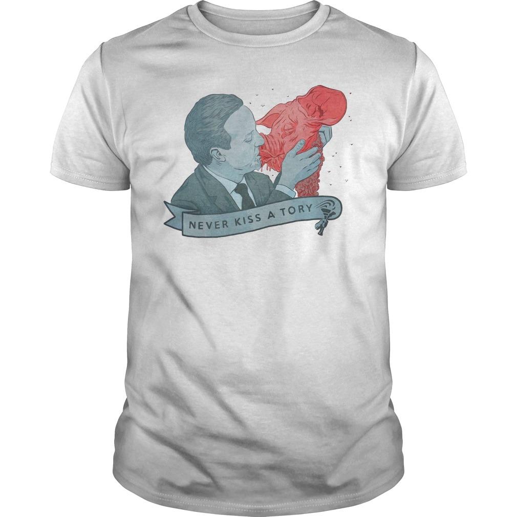 Los Campesinos Never Kiss A Tory Shirt