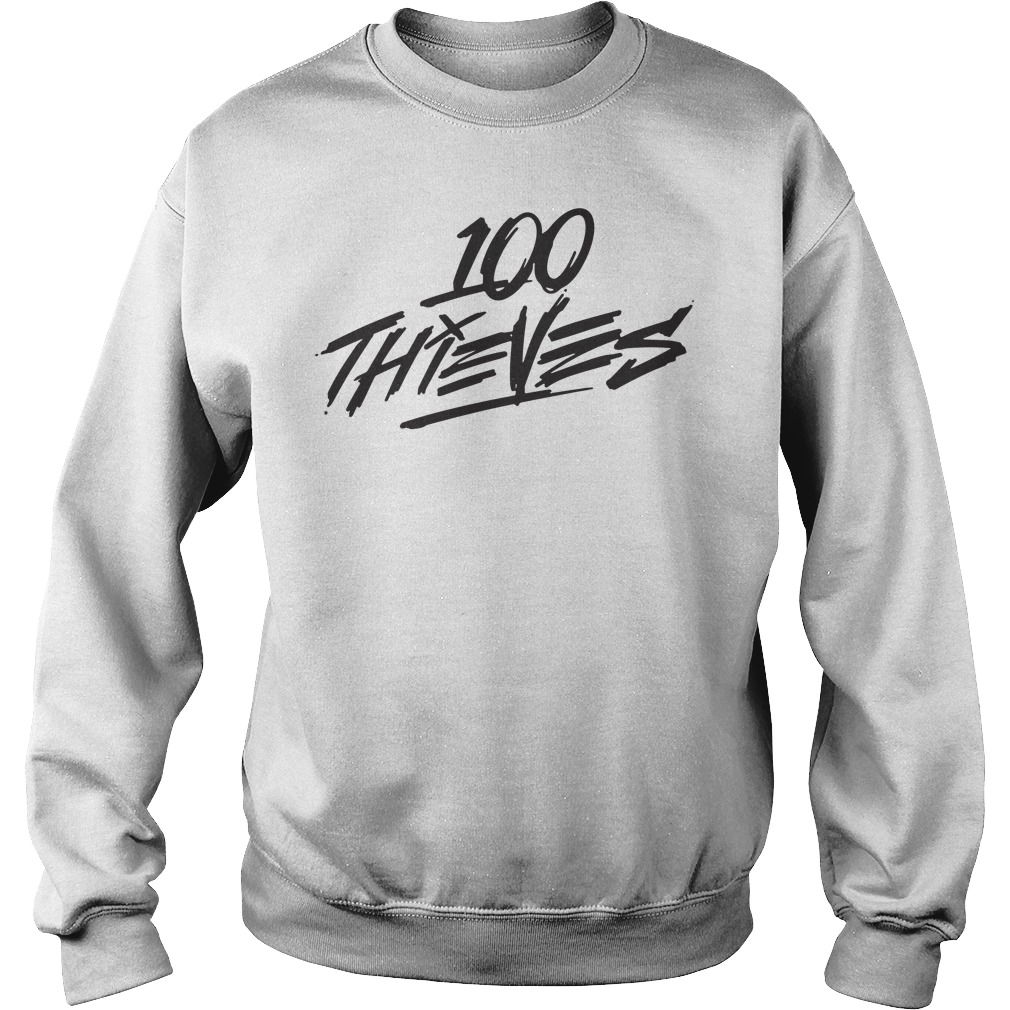 Official 100 Thieves Shirt sweater