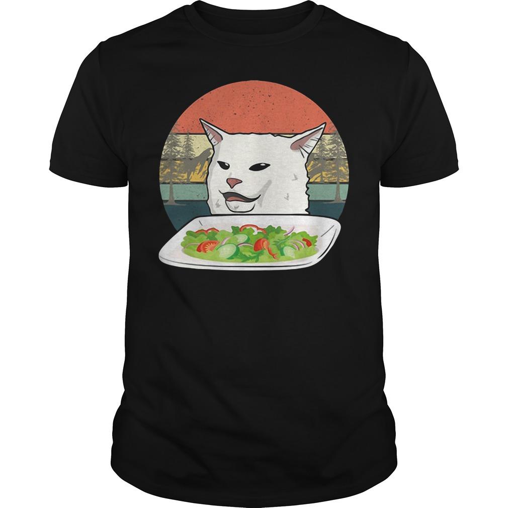 Official Cat At Dinner Shirt