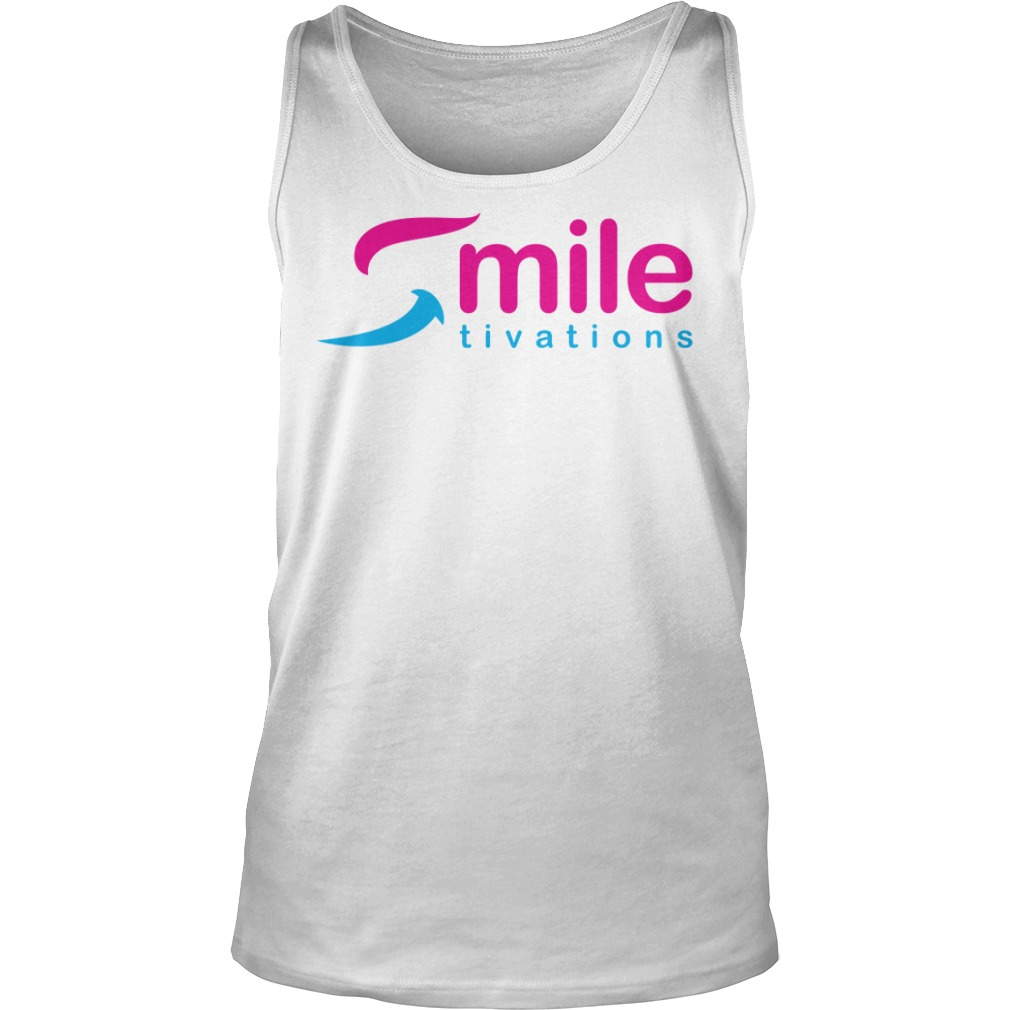 Official Smile Tivations Shirt tank top