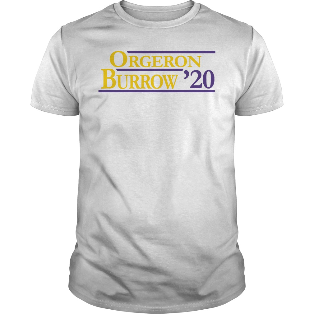 Orgeron Burrow' 20 Shirt