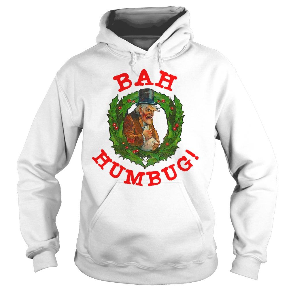 Original Scrooge Bah Humbug Art Shirt hoodie