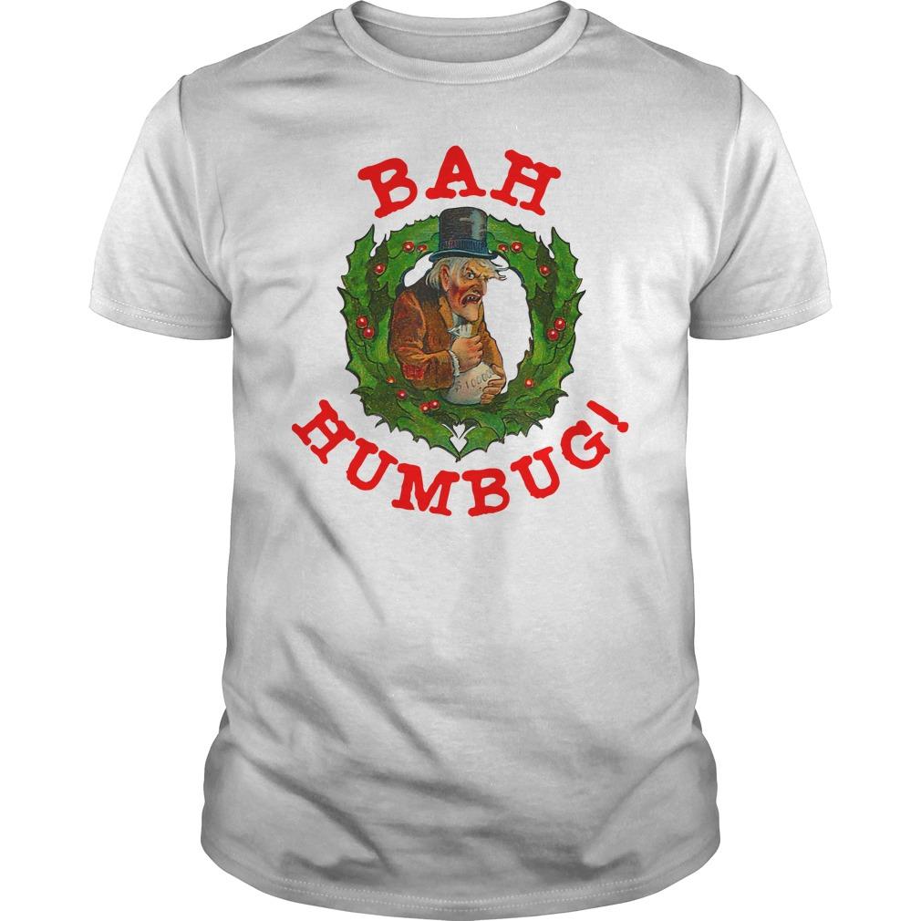 Original Scrooge Bah Humbug Art Shirt