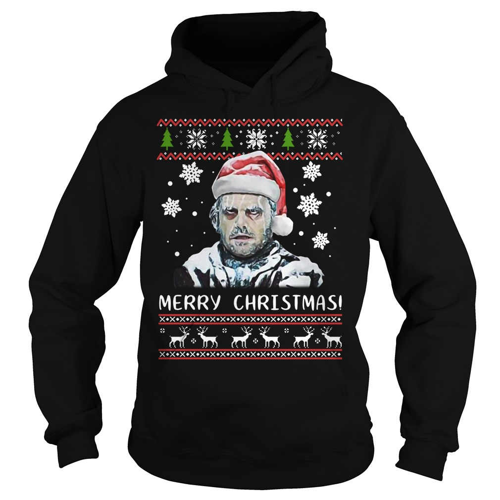 Shining Merry Christmas Ugly Sweat Shirt hoodie