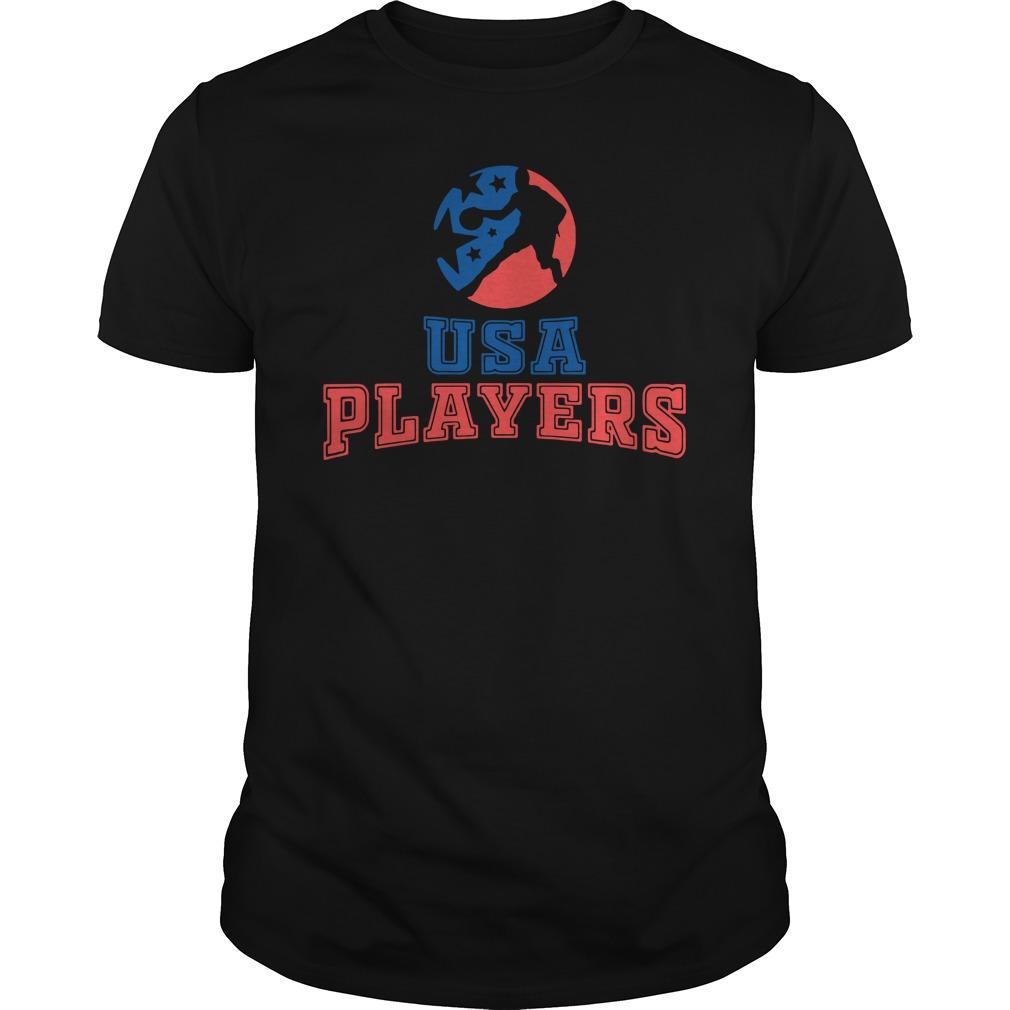 US Basketball Player Shirt