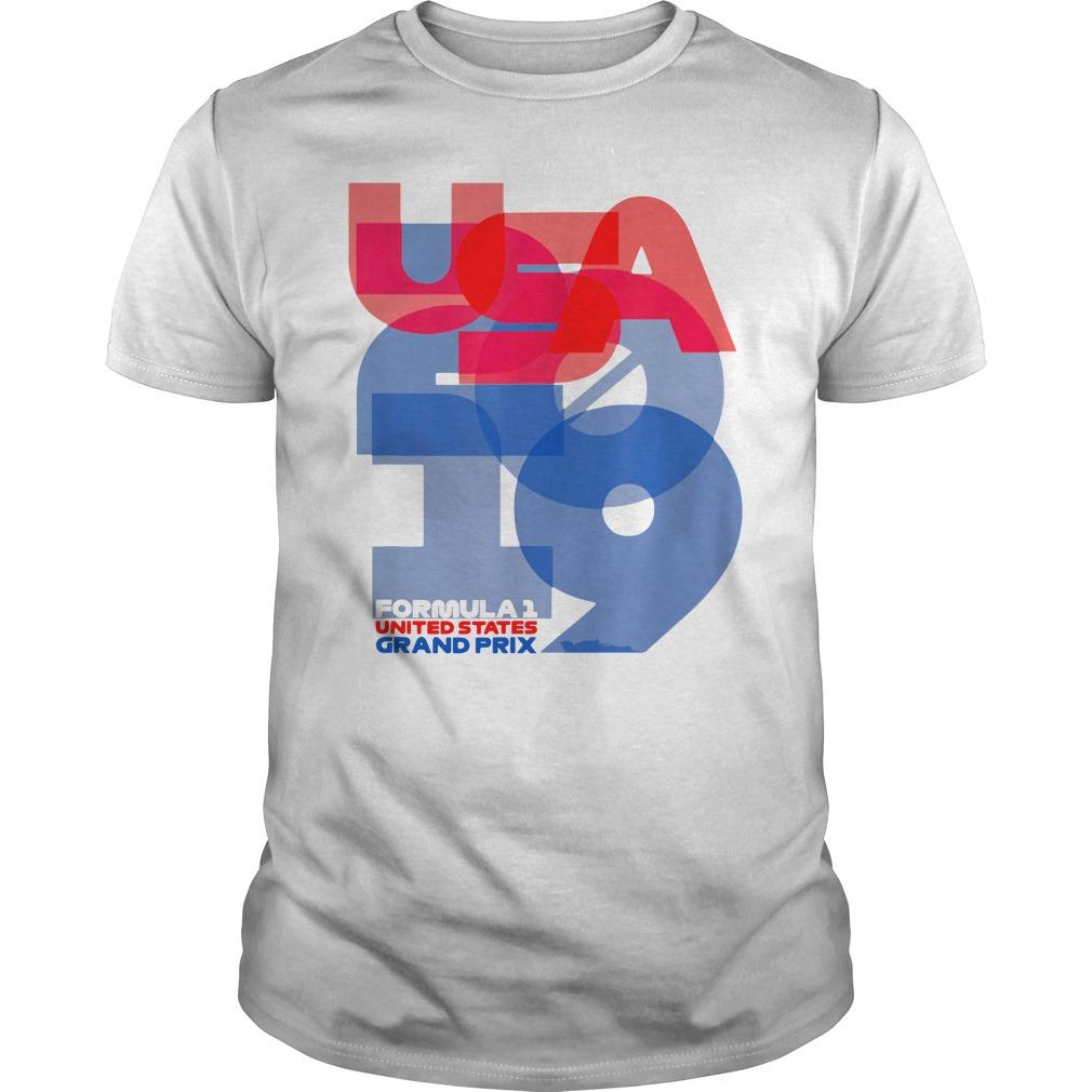 USA 2019 Formula United States Grand Prix 2019 Shirt