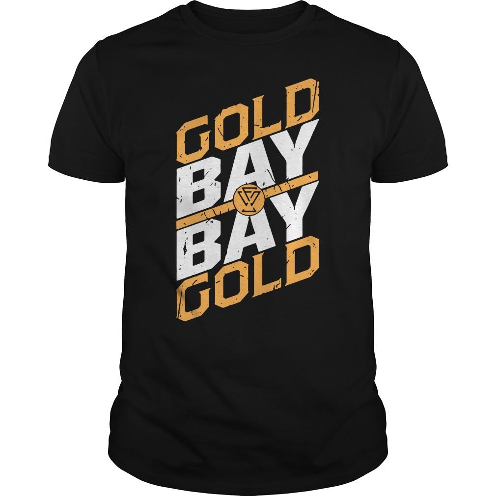 WWE Adam Cole Gold Gold Bay Bay Shirt