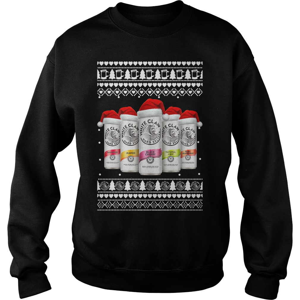 White Claw Christmas Shirt sweater