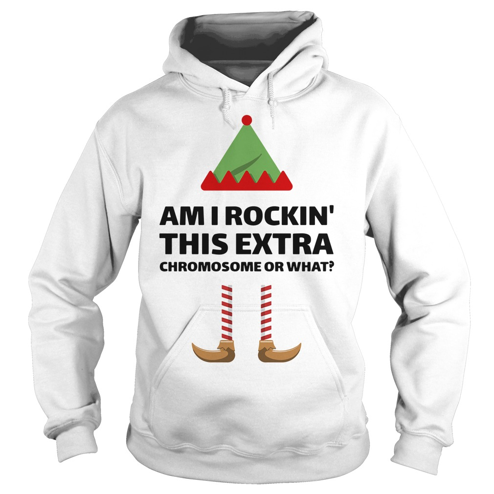 Am I Rockin This Extra Chromosome Or What Shirt hoodie
