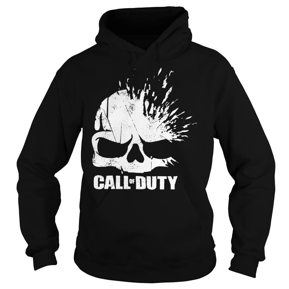 Call of Duty Shirt Elite Shatter Skull Shirt hoodie