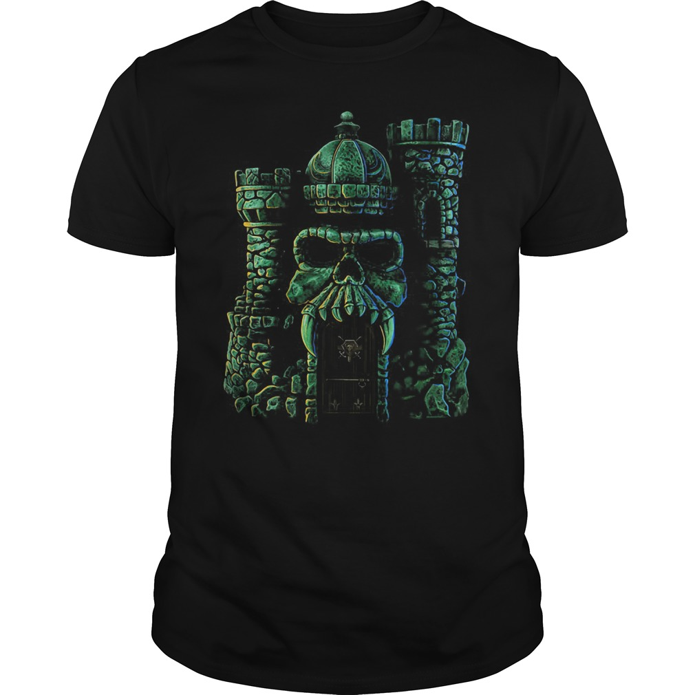 Classic Castle Grayskull Masters Of The Universe Shirt