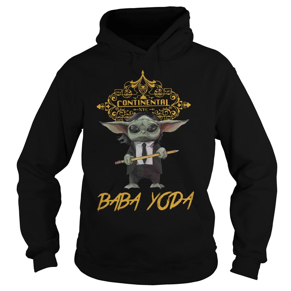 Continental Baby Yoda Shirt hoodie