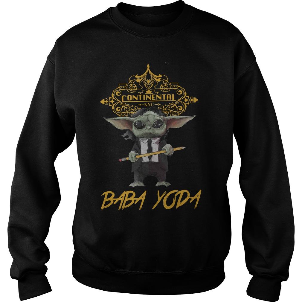 Continental Baby Yoda Shirt sweater
