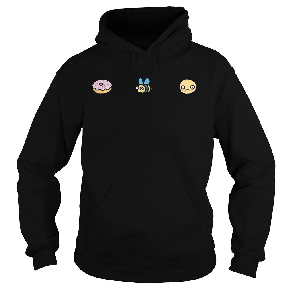 Donut Bee Sad Jumper Shirt hoodie
