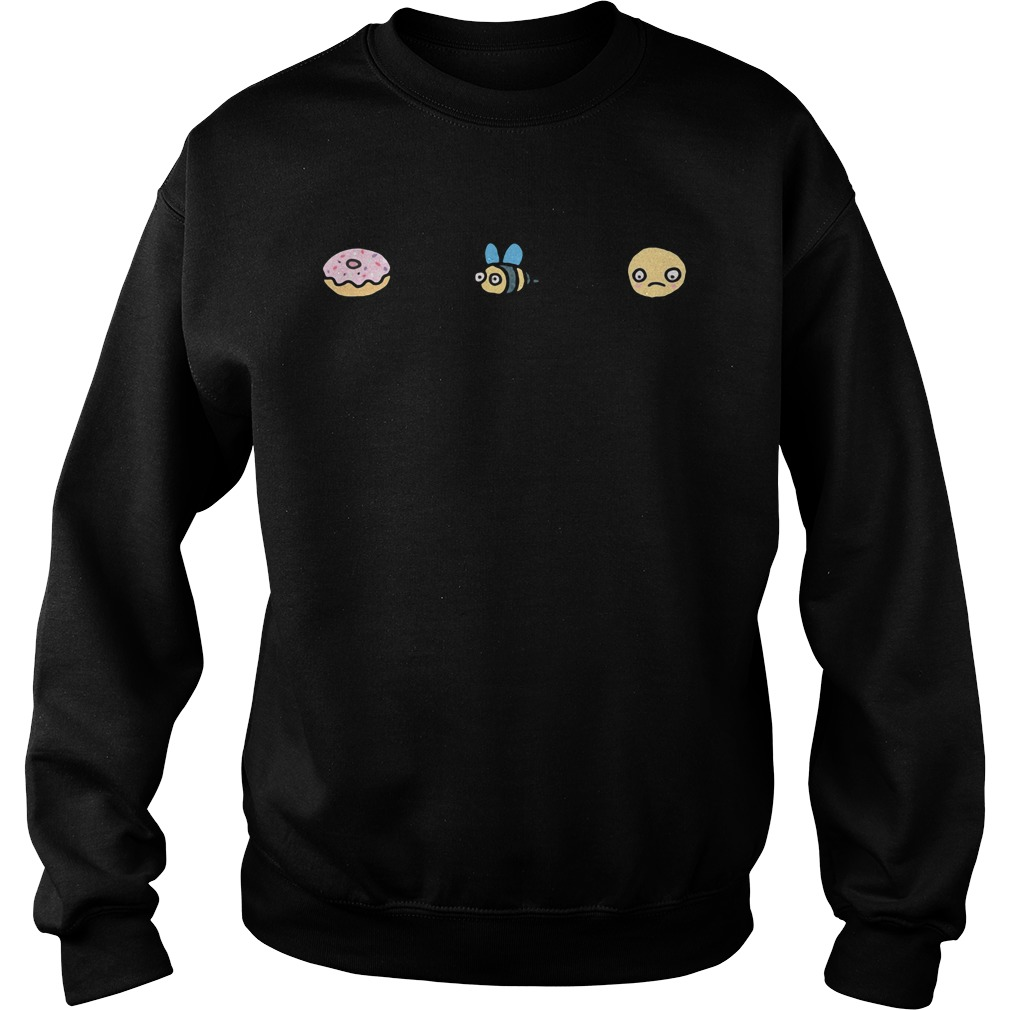 Donut Bee Sad Jumper Shirt sweater