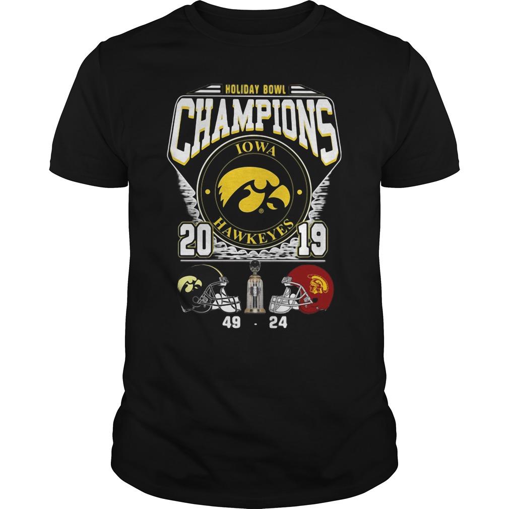 Holiday Bowl Champions Iowa Hawkeyes 2019 Shirt