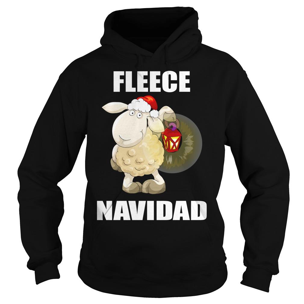 Lamb Fleece Navidad Cute Christmas Shirt hoodie