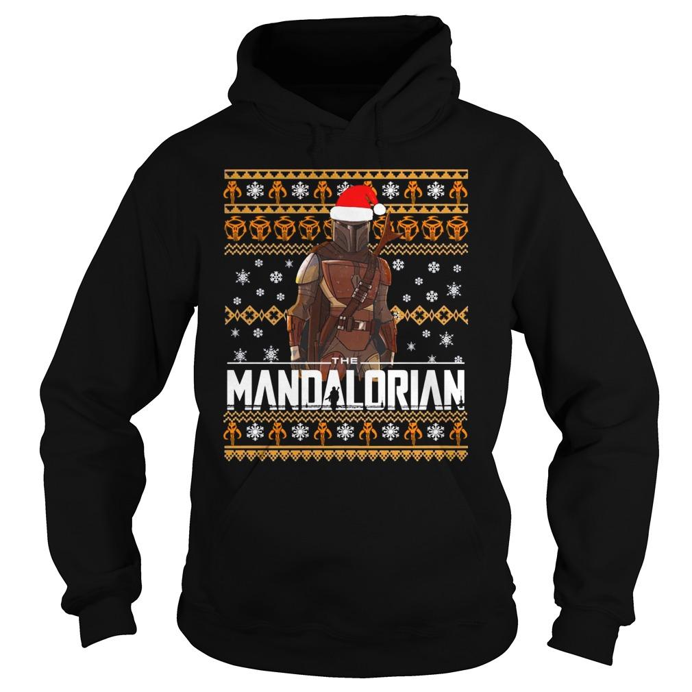 Mandalorian Christmas Shirt hoodie