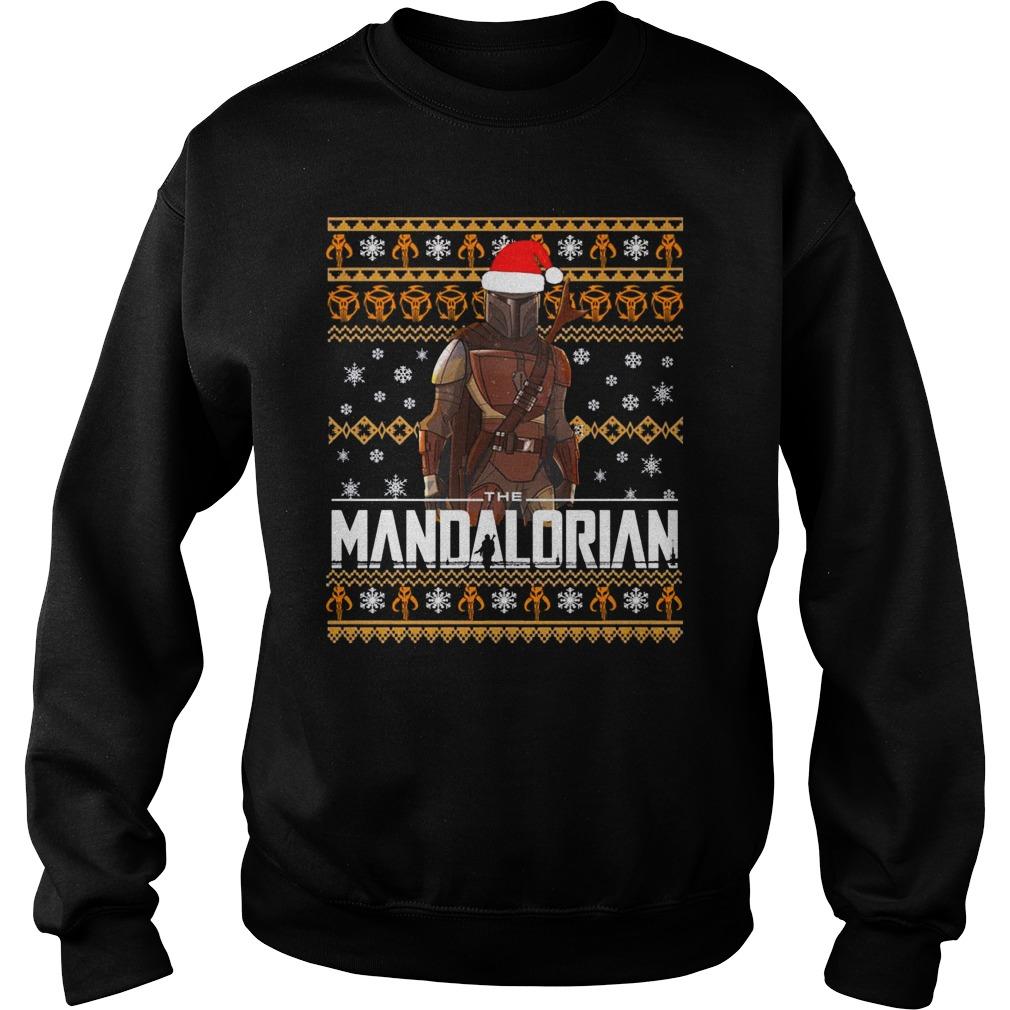 Mandalorian Christmas Shirt sweater