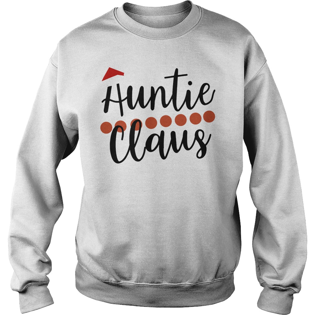 Official Auntie Claus Christmas Shirt sweater