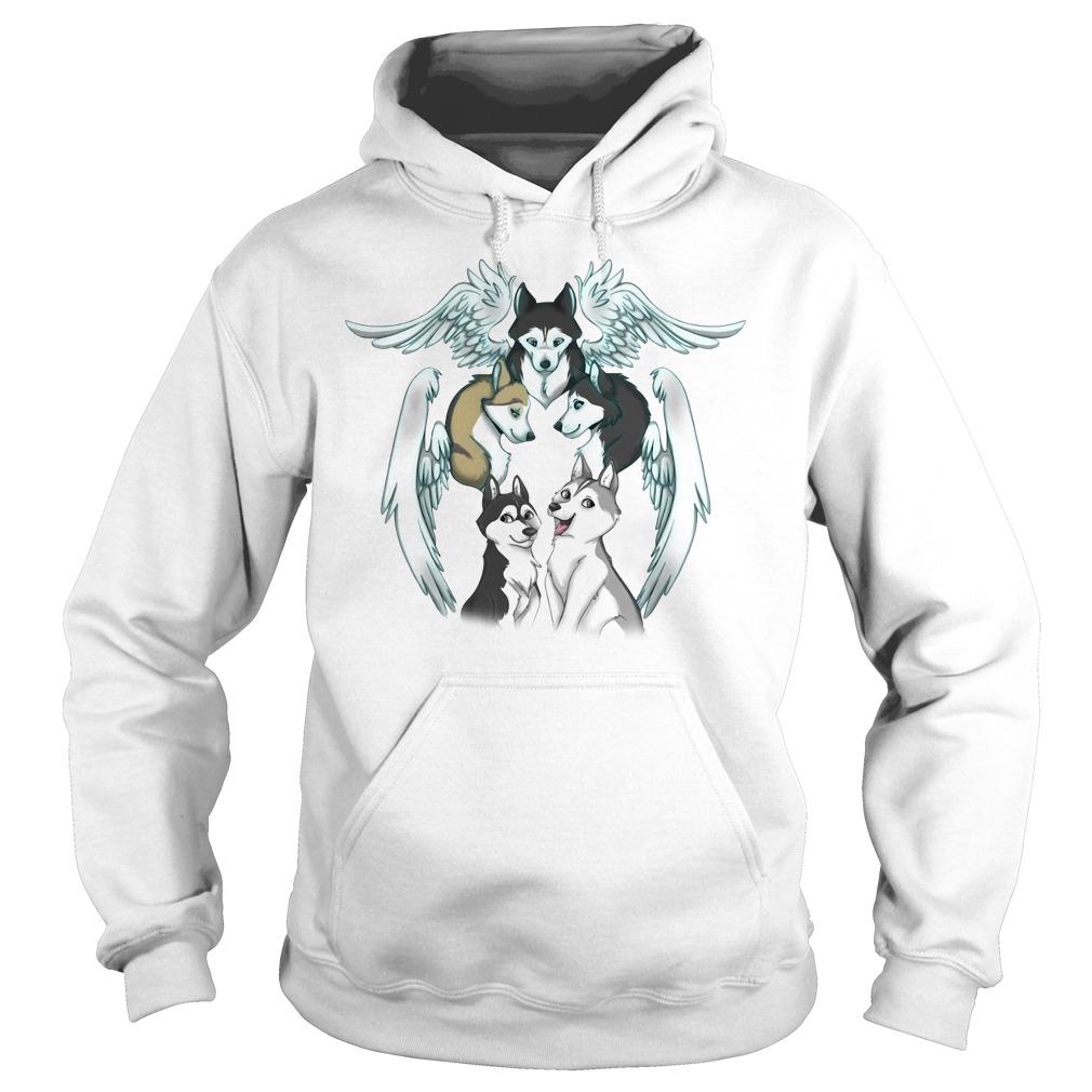 Official Husky Angels Shirt hoodie